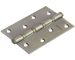 Петля стальная универсальная MS 100X70X2.5-4BB AB Цвет Античная бронза