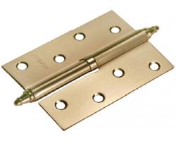 Петля стальная разъемная с короной MS 100X70X2.5 R AB Цвет Античная бронза