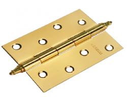 Петля стальная универсальная с короной MS 100X70X2.5-U PG Цвет Золото
