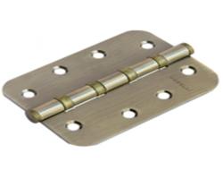 Петля стальная универсальная скругленная MS-C 100X70X2.5-4BB AB Цвет Античная бронза