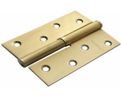 Петля стальная разъёмная MSD 100X70X2.5 SG R Цвет Матовое золото/золото