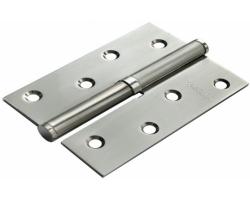 Петля стальная разъёмная MSD 100X70X2.5 SN R Цвет Белый никель