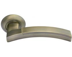 Дверные ручки Morelli MH-12 MAB/AB Цвет Матовая Античная бронза