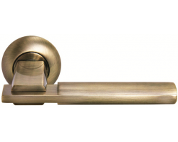 Дверные ручки Morelli MH-13 MAB/AB Цвет Матовая Античная бронза