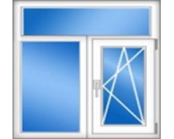 Трехстворчатое окно 505: 2230х1530 (мм)