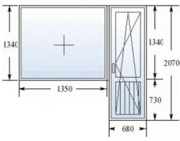 Конфигуратор окна ПВХ на заказ