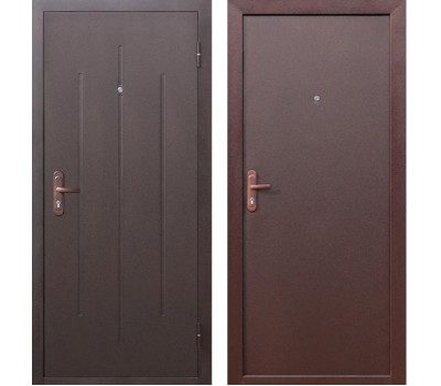 Дверь Стройгост 5-1 металл/металл в Санкт-Петербурге