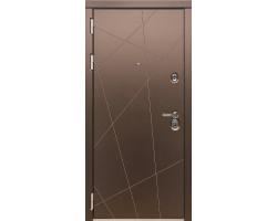 Входная дверь Дива МД-50 Шампань матовый