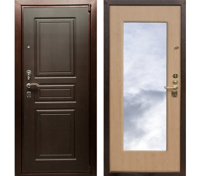 Входная металлическая дверь Горден ЛР 4 с зеркалом