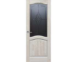 Дверь Leo (Лео) орех – из массива ольхи