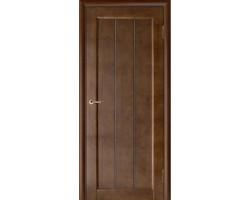 Дверь Vega 19 темный орех – из массива сосны