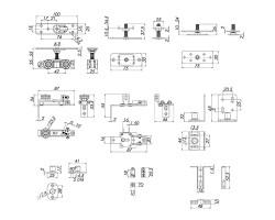 Базовый комплект для телескопического открывания Comfort - PRO Set5