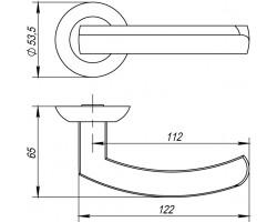 Ручка Punto ALFA TL ABG-6 зеленая бронза