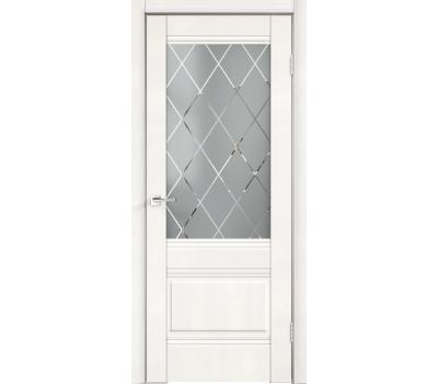 Дверь VellDoris ALTO 2V БЕЛЫЙ ЭМАЛИТ-стекло в Санкт-Петербурге