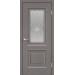 Дверь VellDoris ALTO-7 ЯСЕНЬ КАПУЧИНО остеклённая в Санкт-Петербурге