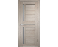 Дверь Duplex 3 (Стекло) Мателюкс Капучино