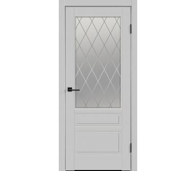 Дверь VellDoris SCANDI 3V Эмаль  остекленное в Санкт-Петербурге